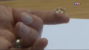 Le 20 heures du 17 janvier 2014 : Des lentilles pour lutter contre le diab� sign� Google - 1274.922