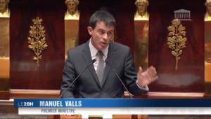 Le 20 heures du 19 février 2015 : Motion de censure : Valls échappe à la sanction - 205.672