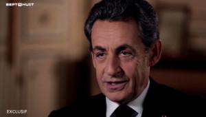 """Nicolas Sarkozy dans """"Sept à Huit"""" sur TF1, le 24/1/16"""