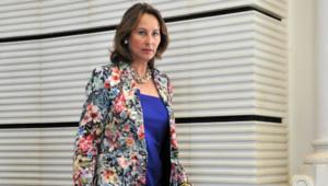 Segolène Royal à Poitiers, le 18 juin 2012.