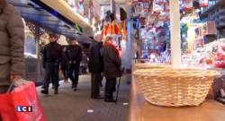 Au marché de Strasbourg, la magie de Noël prend le pas sur la peur