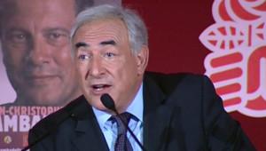 Dominique Strauss-Kahn à Paris le 10 mai
