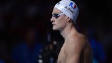 Le nageur français Yannick Agnel