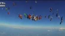 parachutistes chute libre illinois usa