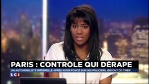 Paris : la police ouvre le feu après un contrôle routier qui dérape