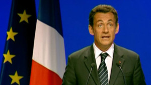 TF1 / LCI Nicolas Sarkozy à Strasbourg, le 2 juillet 2007