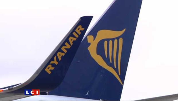 Un avion de la compagnie Low-cost Ryanair
