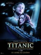 Affiche 2012 du film Titanic