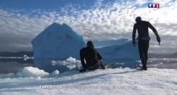 Ils plongent dans l'Arctique pour témoigner des bouleversements climatiques