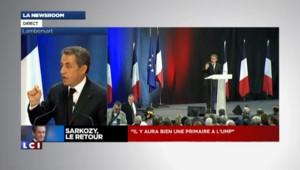 """Sarkozy : """"Cette gauche au pouvoir est réactionnaire !"""""""