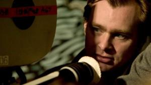 Christopher Nolan sur le tournage de Batman Begins