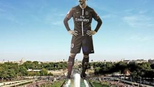 Ibrahimovic Tour Eiffel Capture