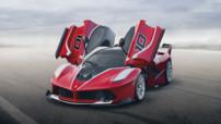 La nouvelle FXX K de Ferrari, basée sur la sublime LaFerrari, et capable de développer 1.050 ch grâce à sa motorisation hybride.