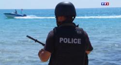 Le 13 heures du 1 juillet 2015 : La police anti-terroriste s'est déployée sur les plages tunisiennes - 1019