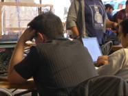 """Le 20 heures du 20 octobre 2014 : """"Code of War"""", un concours de logiciel entre g�es de la programmation informatique - 1676.925324707031"""