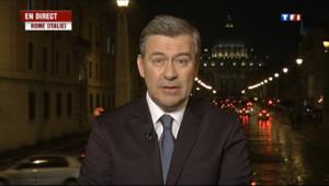 """Le 20 heures du 8 mars 2013 : """"Le nouveau pape devra avoir une image de bonne gouvernance"""" - 251.76"""