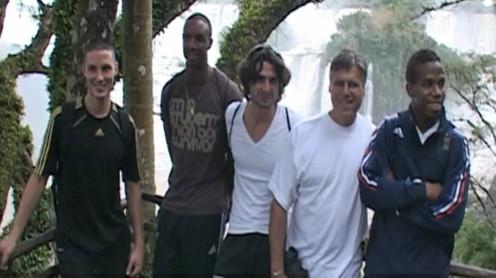 Le match et les gagnants à Iguazu