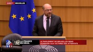 """Parlement européen : Martin Schulz """"profondément bouleversé"""" après les attentats à Paris"""