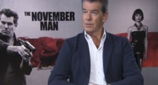 Pierce Brosnan en interview pour The November Man