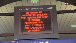 SNCF : La gare de Lille-Flandres paralysée après l'agression d'un contrôleur