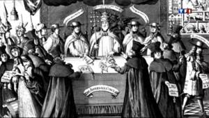 Le 20 heures du 8 mars 2013 : Le Conclave, une institution qui date du XIIIe si�e - 329.293