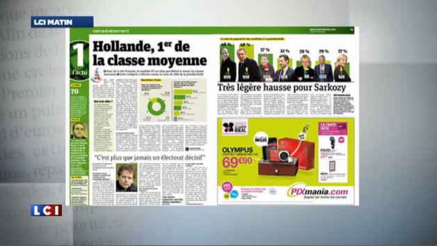 Les classes moyennes votent François Hollande