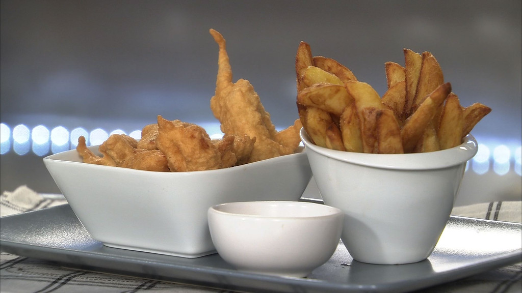 fish and chips petits plats en equilibre mytf1. Black Bedroom Furniture Sets. Home Design Ideas