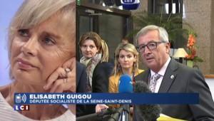 """Accord grec, Elisabeth Guigou salue la """"finesse d'Hollande"""""""