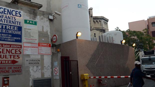 Hôpital Saint Joseph, à Marseille