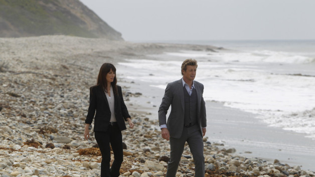 Mentalist saison 4 episode 5 - Teresa Lisbon (Robin Tunney) et Patrick Jane (Simon Baker)