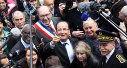 François Hollande en déplacement en 2013