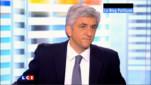 Hervé Morin sur le plateau de LCI.