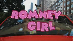 """Le clip """"Romney girl"""" présente la Suisse comme un paradis fiscal."""