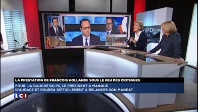 """Lienemann : """"Hollande s'est retrouvé dans la cage aux lions"""""""