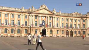 La place du Capitole à Toulouse.
