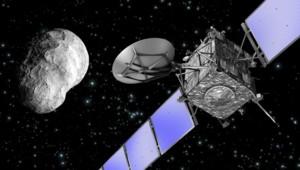 La sonde Rosetta a frôlé l'astéroïde Lutetia