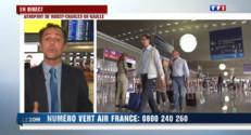 """Le 20 heures du 14 septembre 2014 : Gr� Air France : """" Reporter les voyages �a semaine prochaine"""" - 731.225"""