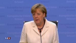 Merkel annonce la tenue d'une nouvelle réunion exceptionnelle sur la Grèce