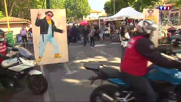 Mort de Coluche : 30 ans après, 2 000 motards lui rendent hommage