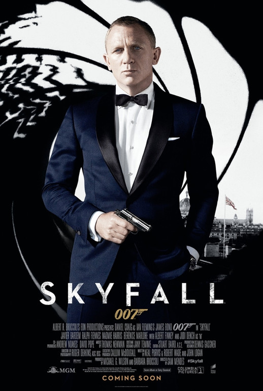 Affiche internationale du film Skyfall