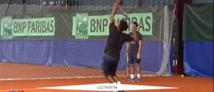 """Coupe Davis en Guadeloupe : pour Noah, """"c'est fantastique"""", mais pas pour Monfils"""