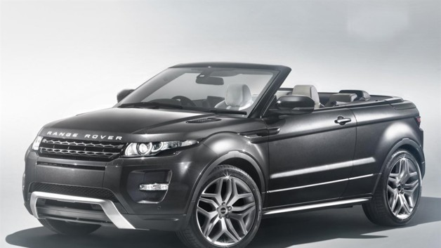 news automoto salon de gen ve 2012 range rover evoque cabriolet concept mytf1. Black Bedroom Furniture Sets. Home Design Ideas