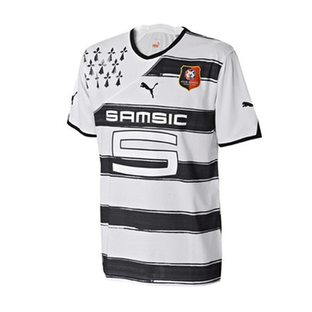 Photos t l foot ligue 1 les maillots ext rieur saison for Maillot rennes exterieur