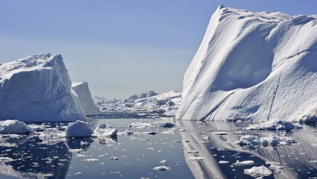 Un iceberg au Groenland (image d'illustration)