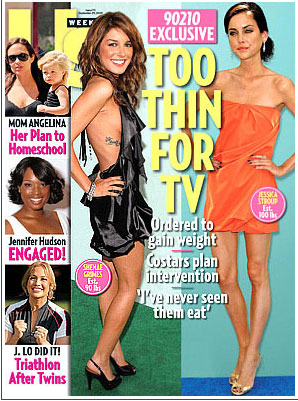 people : Couverture Us Weekly Beverly Hills 90210