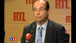 """Hollande : """"DSK peut être candidat demain"""""""