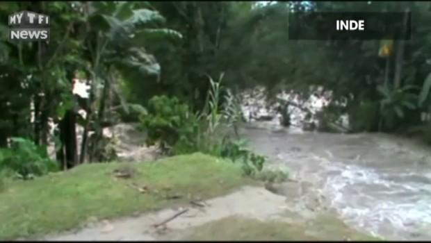 Inde : d'impressionnantes inondations ont enseveli des centaines de villages