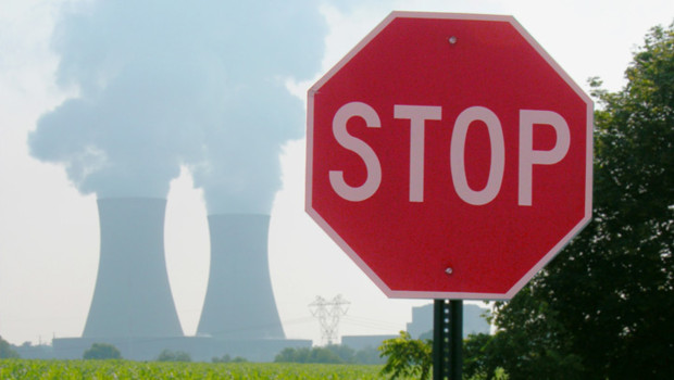 nucléaire stop fumée nuke centrale