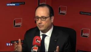 """Hollande a """"des relations sincères et franches"""" avec Merkel"""