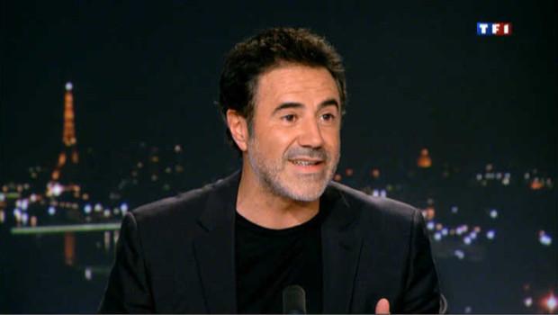 José Garcia sur le plateau du JT de TF1